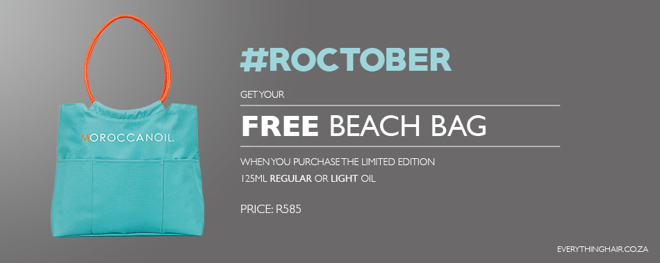 FREE Moroccanoil Beach Bag