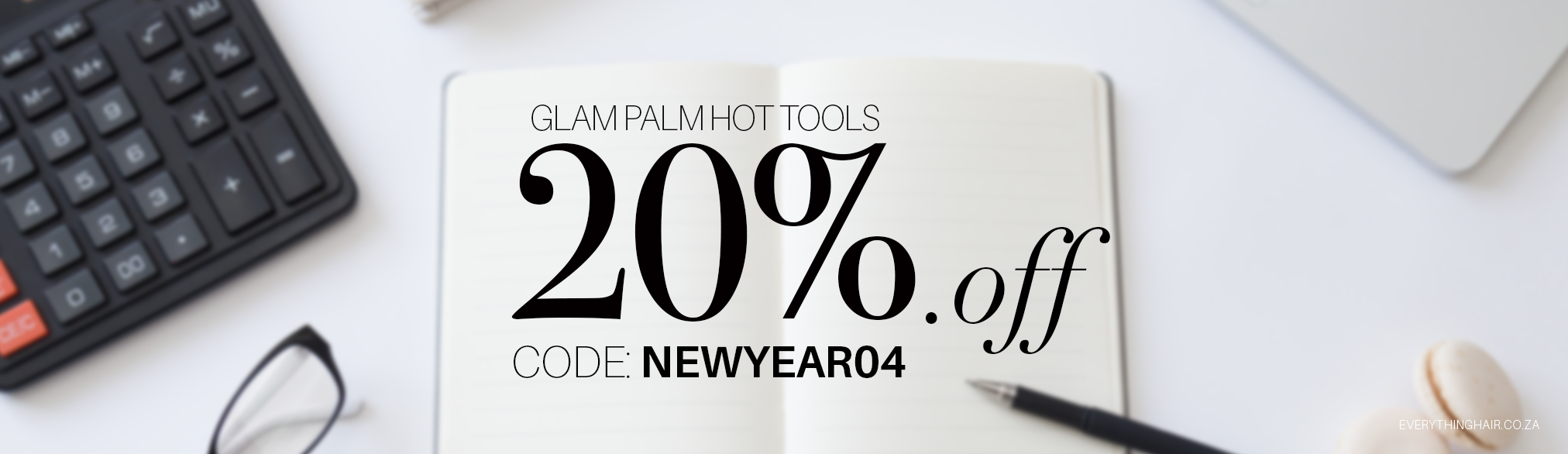 20% Off Glam Palm