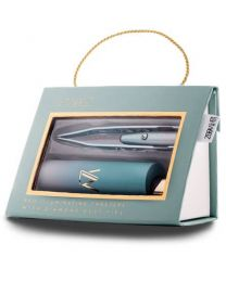 La - Tweez - Pro Illuminating - Mint Ombre Tweezers & Mirrored Carry Case Diamond Dust tip