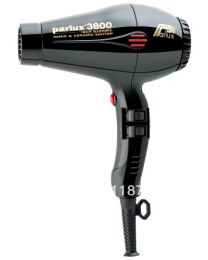 Parlux 3800 Supercompact Ceramic and Ionic Hair Dryer Black