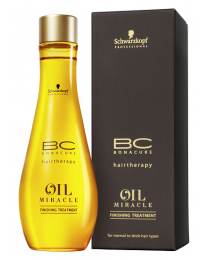 Schwarzkopf Professional BC Bonacure Oil Miracle Normal to Thick Finishing Treatment 100ml