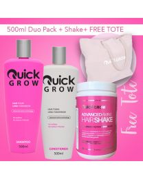 Quick Grow 500ml Combo With Shake Plus FREE TOTE BAG