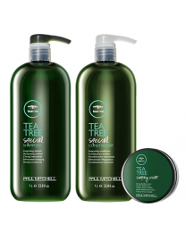 Paul Mitchell Tea Tree Combo (FREE Shaping Creme)