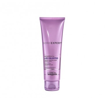 Loreal Professionnel serie expert Liss Unlimited Keratinoil Complex Blow dry Cream 150ml