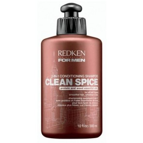 Redken for Men Clean Spice Conditioning Shampoo 300ml