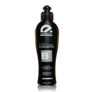 Evolution Keratin Hair Color Chemistry Brilliant Black Mask 200ml