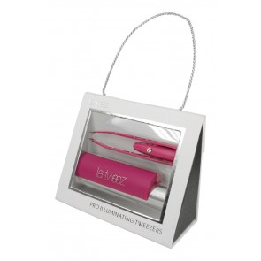 La Tweez Pro Illuminating Tweezer Pink
