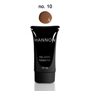 Hannon Full Cover Liquid Foundation No.10
