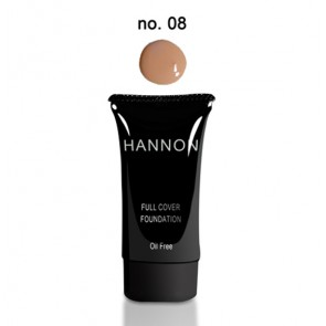 Hannon Full Cover Liquid Foundation No.8